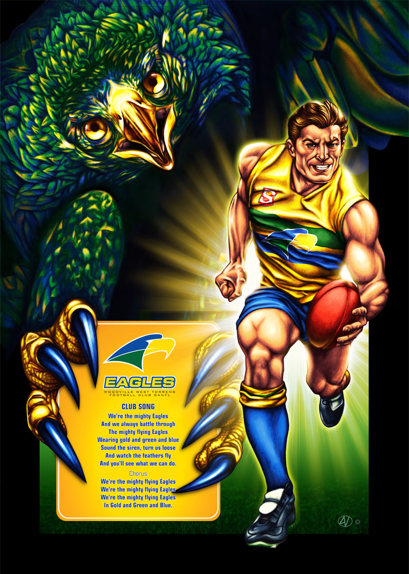 WWTFC Eagles poster